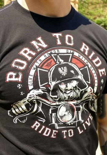 Tričko - Born To Ride