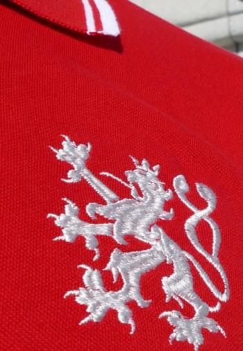 Pánské POLO - Lev (červené)