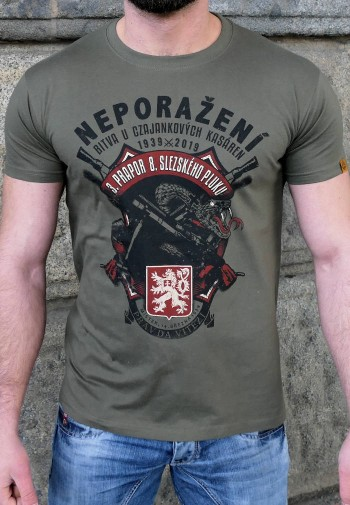 Tričko Neporaženi army