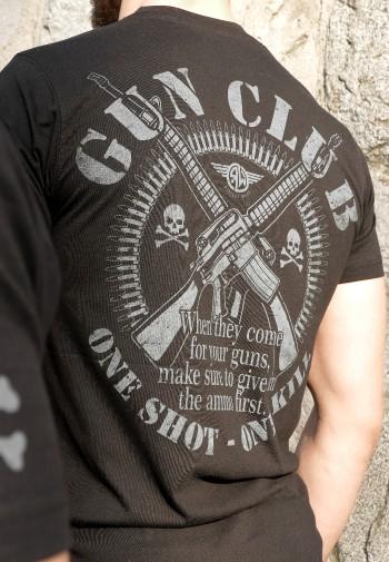 Tričko Gun Club