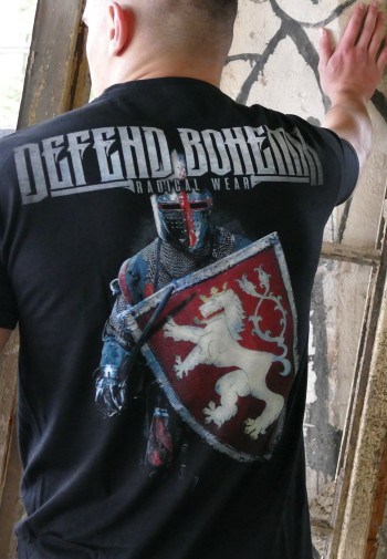 352b138292f3 Pánské tričko - Defend Bohemia Pánské tričko - Defend Bohemia