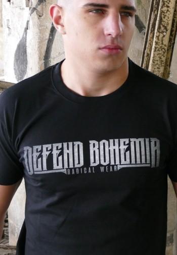 20975e15b32f Pánské tričko - Defend Bohemia ...
